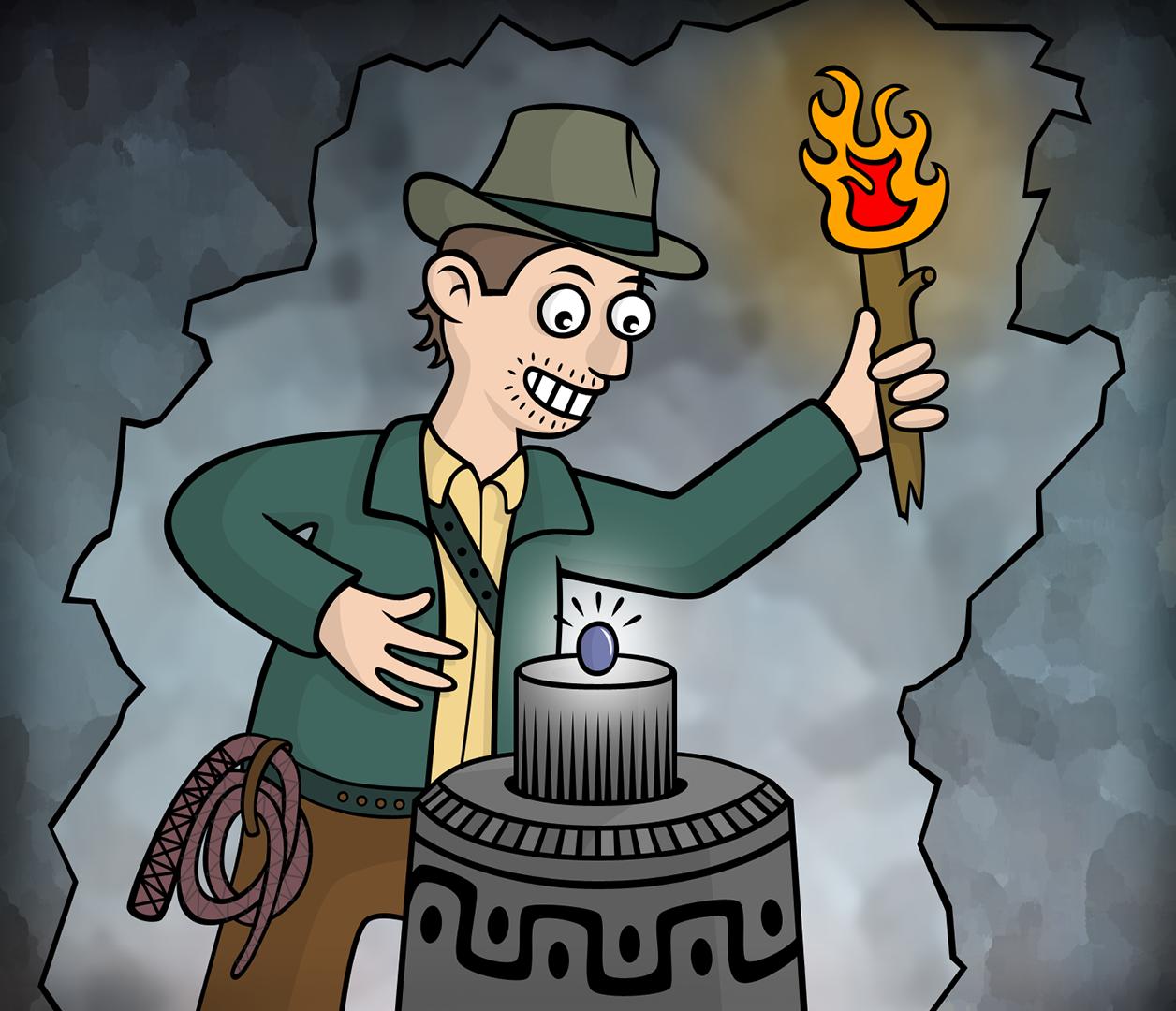 Färdig illustration